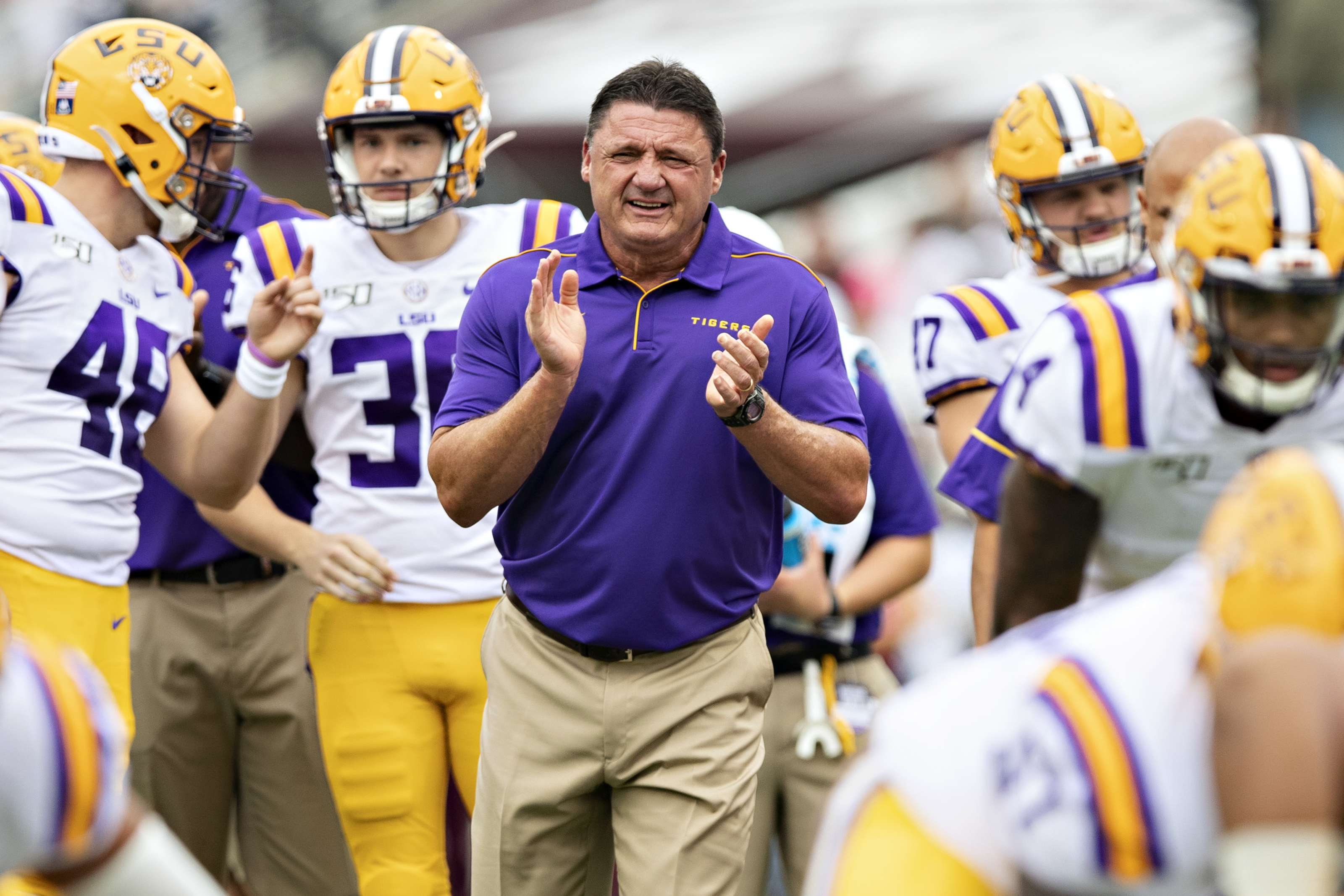 Lsu Football How The Tigers Are Humbling The Nation S Best Recruits