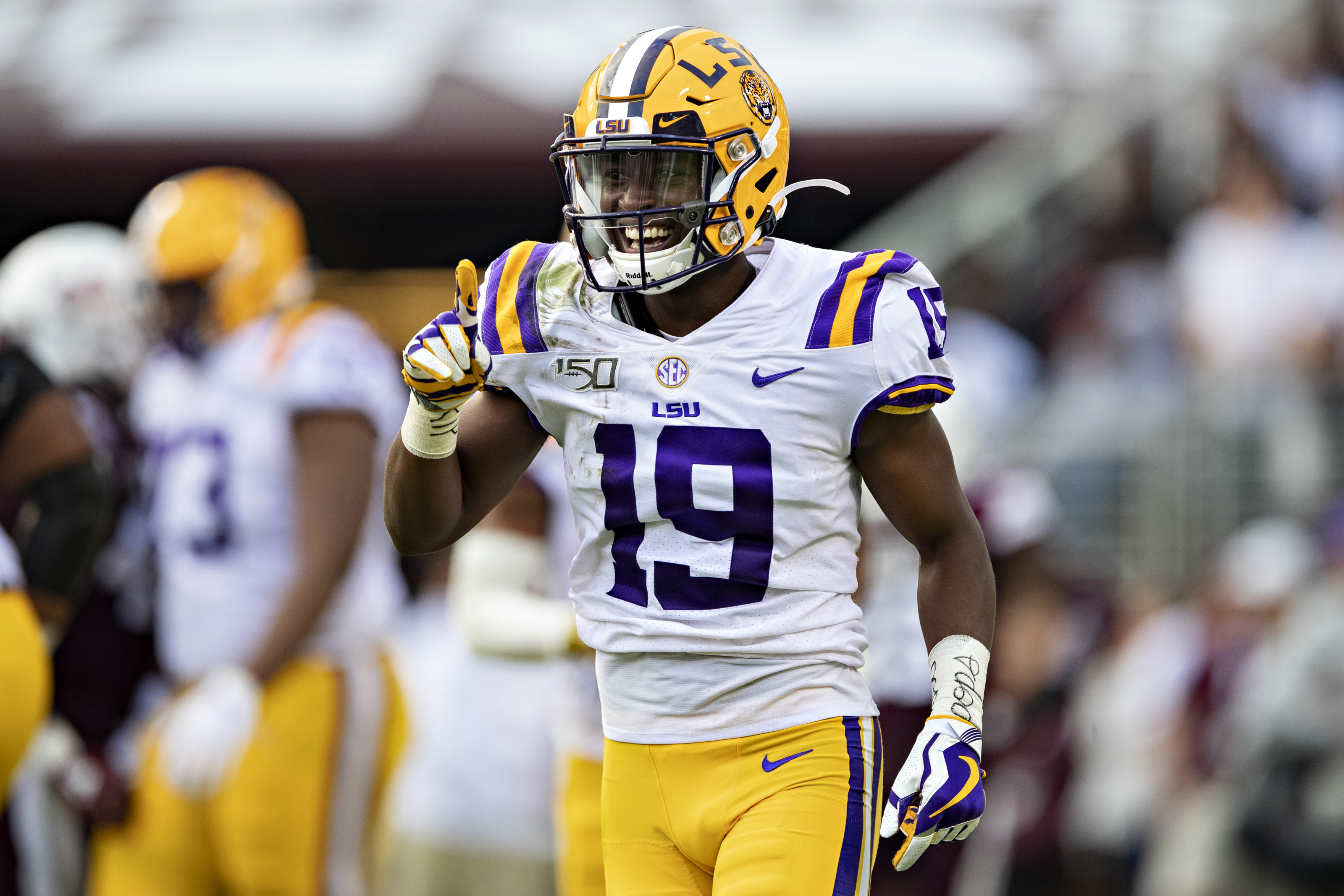 Perfect draft destination for LSU football WR who impressed at Pro-Day