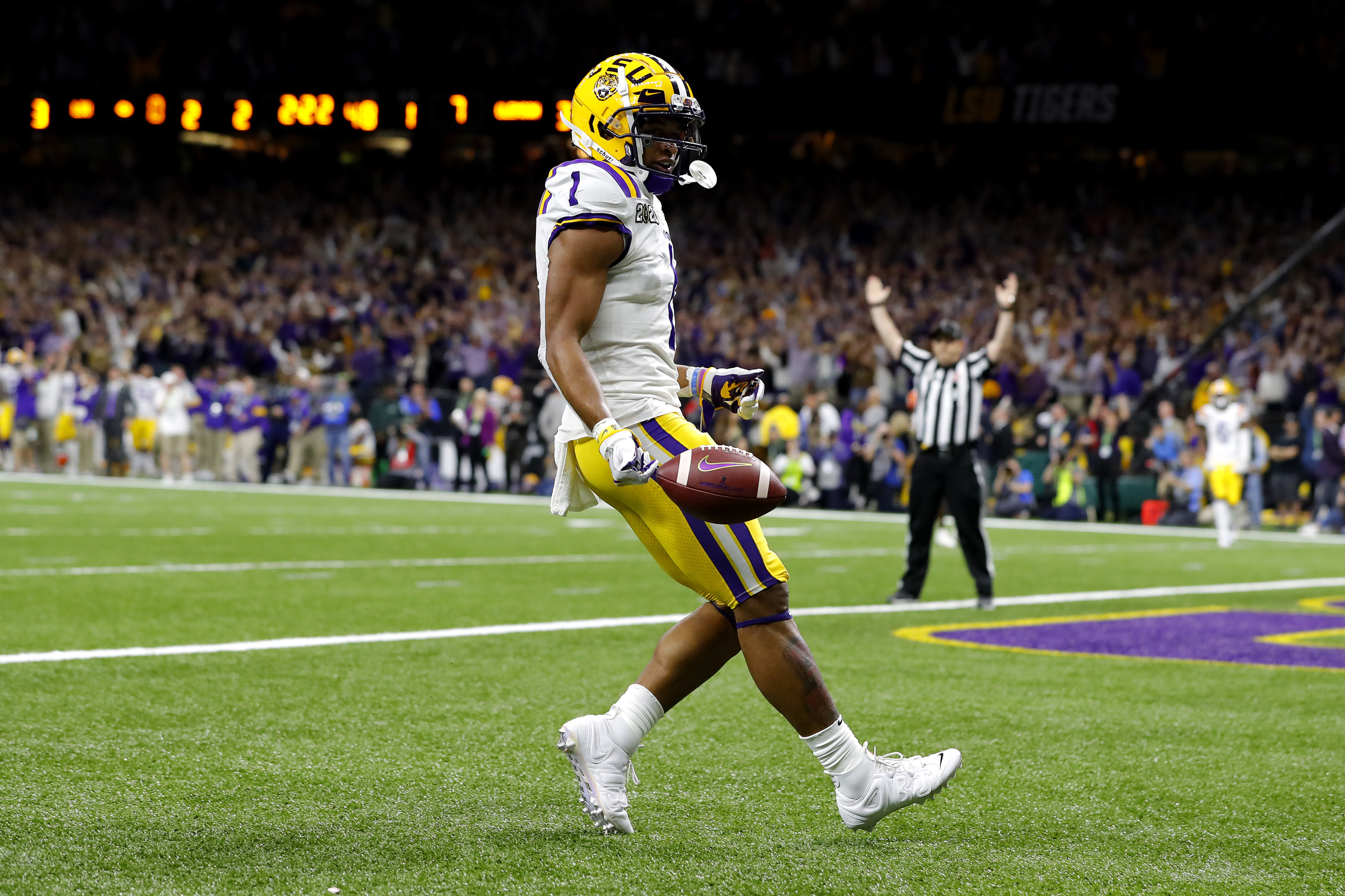 Ja'Marr Chase probably won't be the top WR selected in 2021 NFL Draft